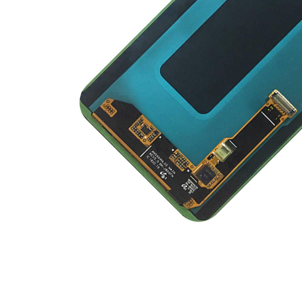 جديد شاشات lcd لسامسونج A6 زائد 2018 A605 شاشة الكريستال السائل + مجموعة المحولات الرقمية لشاشة تعمل بلمس لسامسونج A6 + عرض