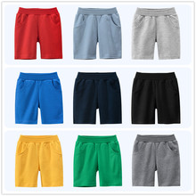 Pants Boys Shorts Baby-Boys-Girls Children Knickers Solid-Color Casual 7 8 Sport Cotton