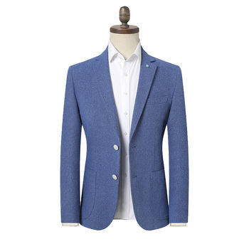 2020 Men's Spring Business Casual Suit Youth Fashion Decoration Double Buckle  blazers
