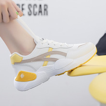 2019 Fashion Women Sneakers Autumn Oudoor Travel Walking Casual Chunky Sneakers Mesh Breathale Cushi