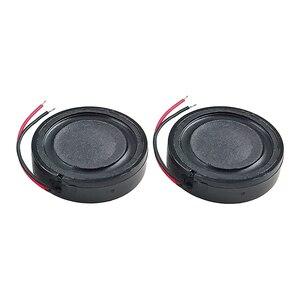 Image 2 - GHXAMP 24mm 1 pouce Woofer haut parleur unité 4ohm 2W Mini haut parleur bricolage pour navigateur voix haut parleurs numériques 2 pièces