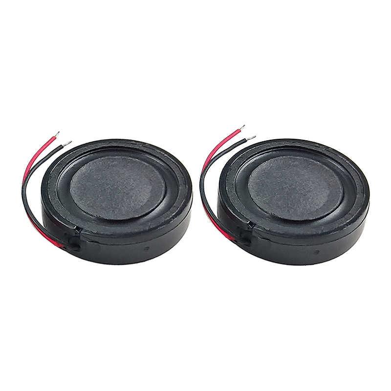 Ghxamp 24 Mm 1 Inch Woofer Unit Speaker 4ohm 2W Mini Speaker DIY untuk Navigator Suara Digital Pengeras Suara 2 buah