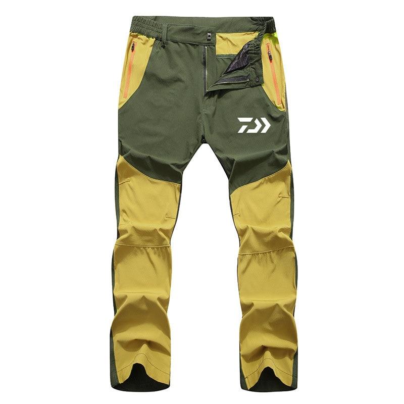 novo verao outono men daiwa calcas de pesca absorcao de umidade secagem rapida respiravel caminhadas roupas