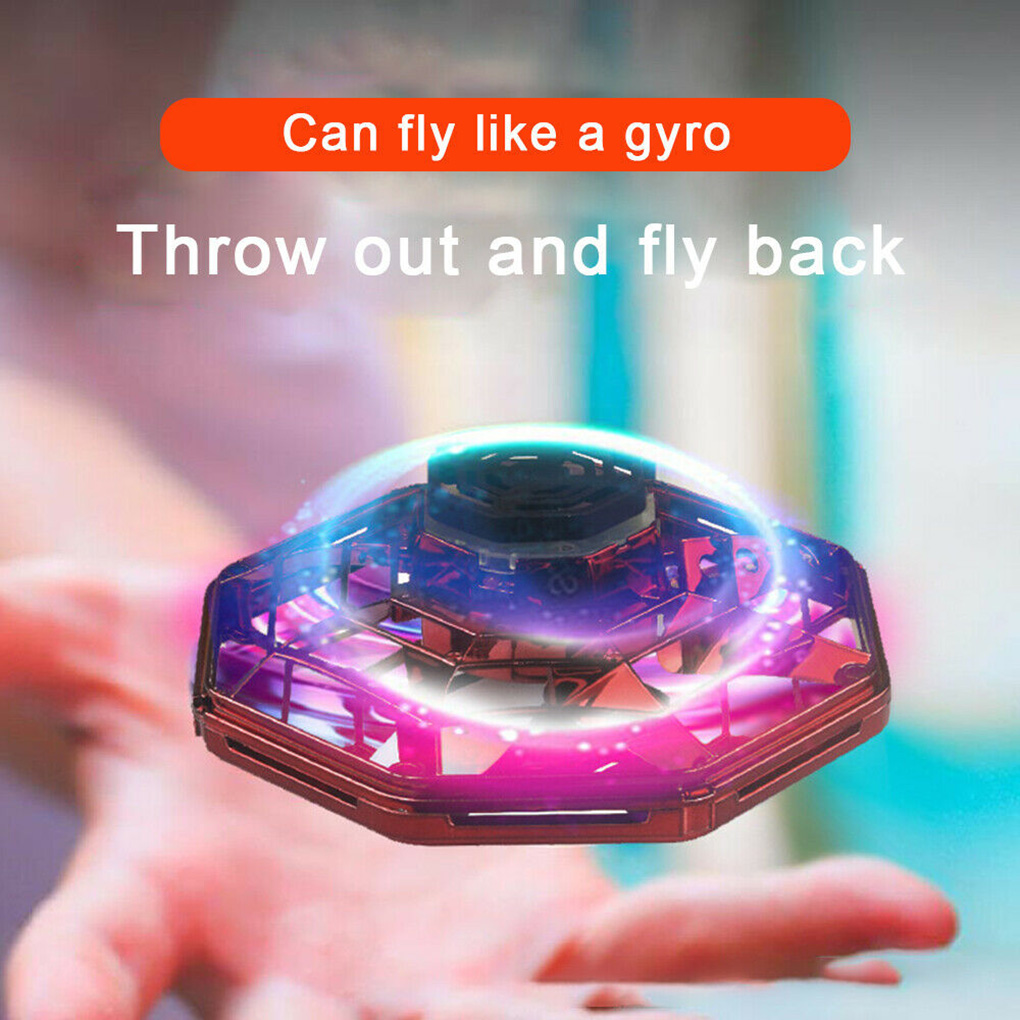 Mini Drone Flying Hand Operated Induction Aircraft Quadrocopter Flying Fingertip Gyroscope Dron UFO Toys Flying Toy enlarge