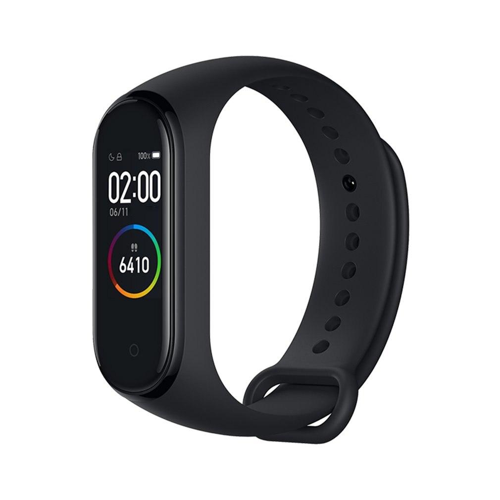 Original Mi Band 4 Smart Farbe Bildschirm Armband Herz Rate Fitness 135mAh Bluetooth 5,0 50M Schwimmen mi ng wasserdichte CN Version