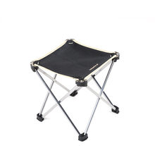 Outdoor Ultra Light Handy Leisure Stools Train Pony Stools Aluminum Alloy Field Fishing Folding Chair Portable Camping Chair(China)