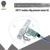 Digitale Cella di Carico Sensore di Peso HX711 Convertitore AD Breakout Modulo 5KG 10KG Portatile Elettronica Da Cucina Bilancia per Arduino bilancia