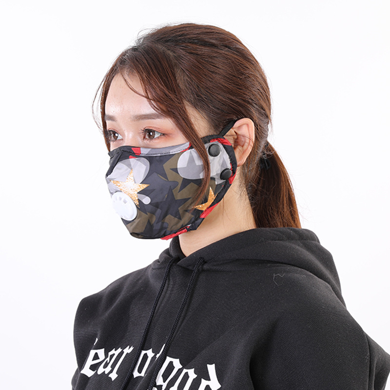 Dustproof Air Filter Mask Breathable Anti-Fog PM2.5 Keep Warm Resist Cold Warm Dust Mask Respirator Face Mask