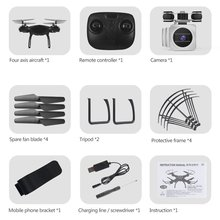 цена на HJ14Q RC Drone 2MP/5MP Camera FPV Wifi 2.4G Remote Control Helicopter Headless Model Selfie Drone RC Quadcopter with HD Camera