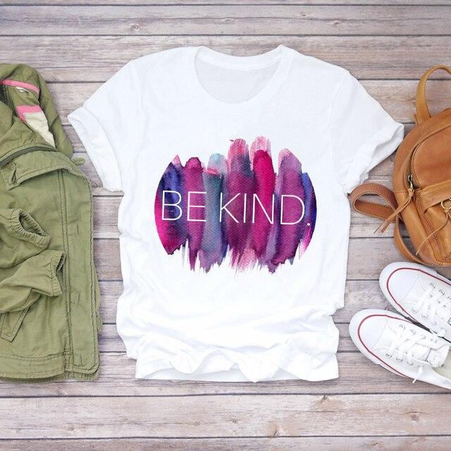 футболка женская с графическим принтом мультяшная акварельная фотография