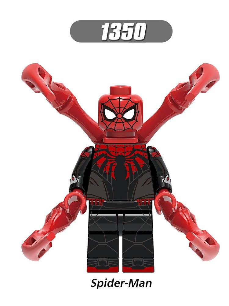 Single Sale LegoINGlys Super Heroes Far From Home Spider-Man 2 WindElement Iron Man Jonah Mysterio Blocks Bricks Toys Gift X0268