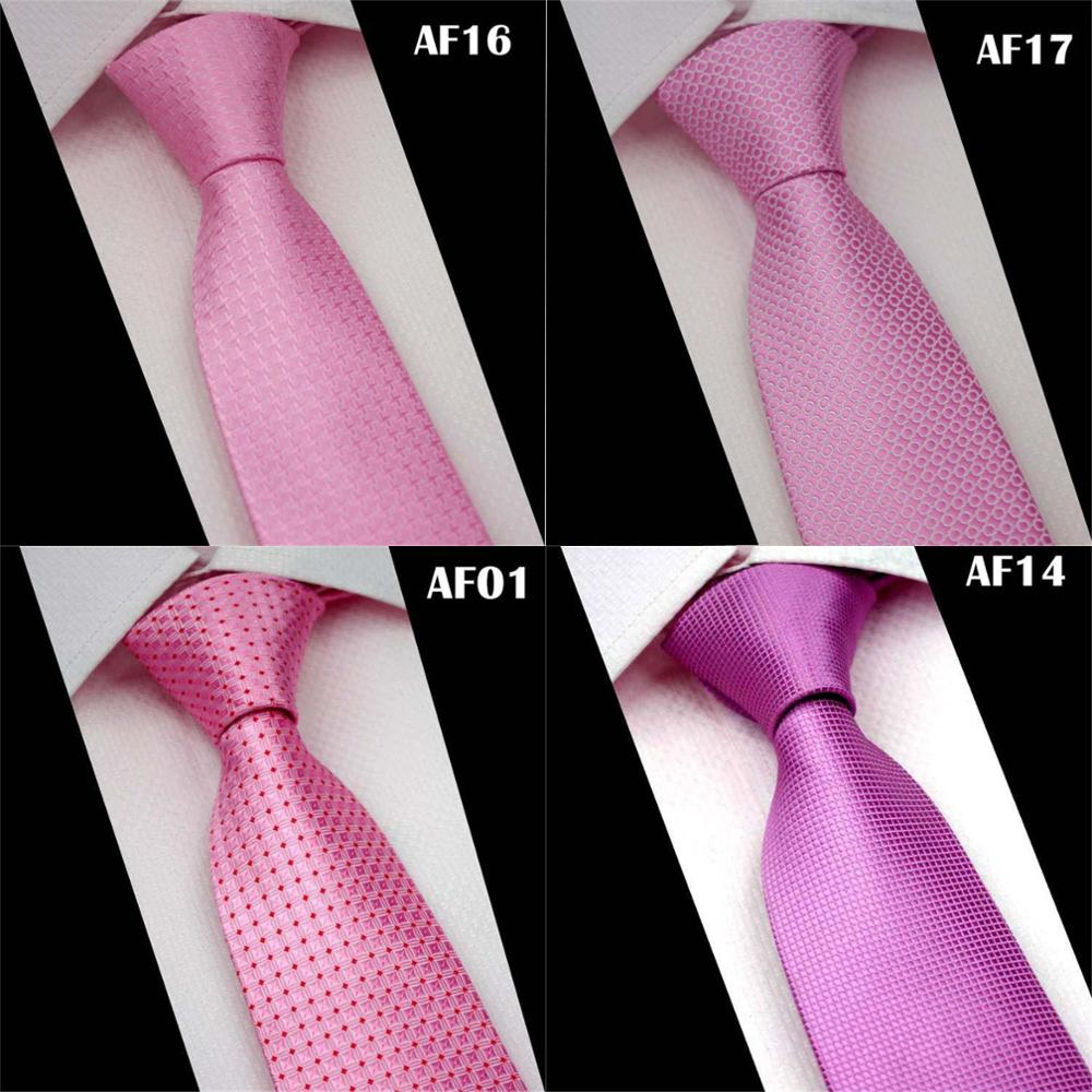 CityRaider Brand 7cm Skinny Neck Ties For Men Wedding Tie 2019 New Cravate Mens Slim Neckties Pink Necktie Pink Gravata CR023