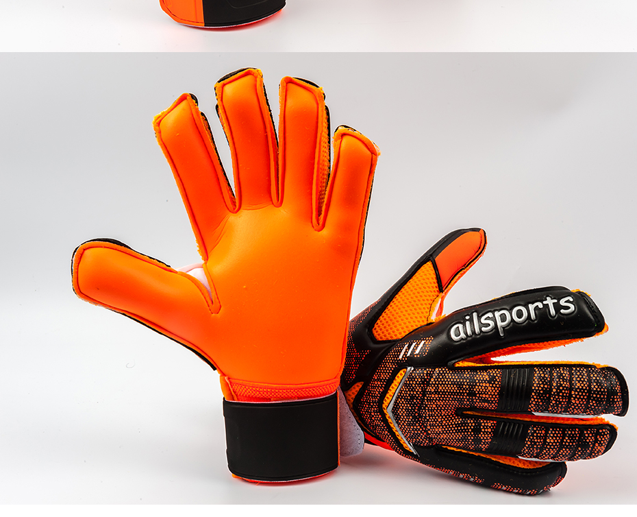 Professional Goalkeeper Gloves With Finger Protection 11