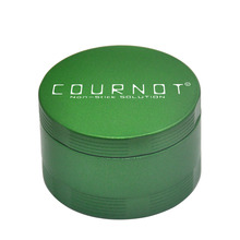 COURNOT 4 Layers Tobacco Grinder Herb  Aluminum Alloy Non-Stick Metal 63MM 4 Layers Chrsher Tobacco Herb Grinder  Accessories