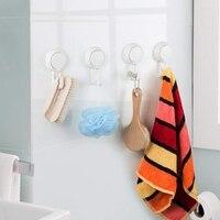 Ssania haki potężny próżniowe nasadki ssące haki Heavy Duty prysznic haki organizator do łazienki ręcznik kuchenny  szata  loofah (2 szt w Haczyki łazienkowe od Dom i ogród na