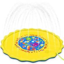 170 см детский надувной водяной коврик с распылителем Круглый