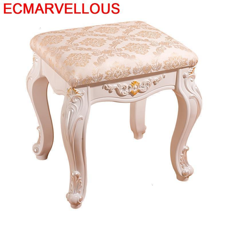 Small Footstool Vanity Chair Tabure Banc De Storage Kid Furniture Rangement Dressing Poef Tabouret Ottoman Sgabello Stool On Aliexpress
