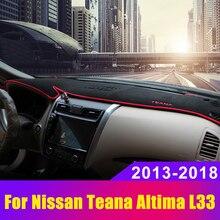 Car Dashboard Covers Mat Avoid Light Pad Sun Shade Carpets Anti-UV LHD For Nissan Teana Altima L33 2013 2014 2015 us8 12 l33