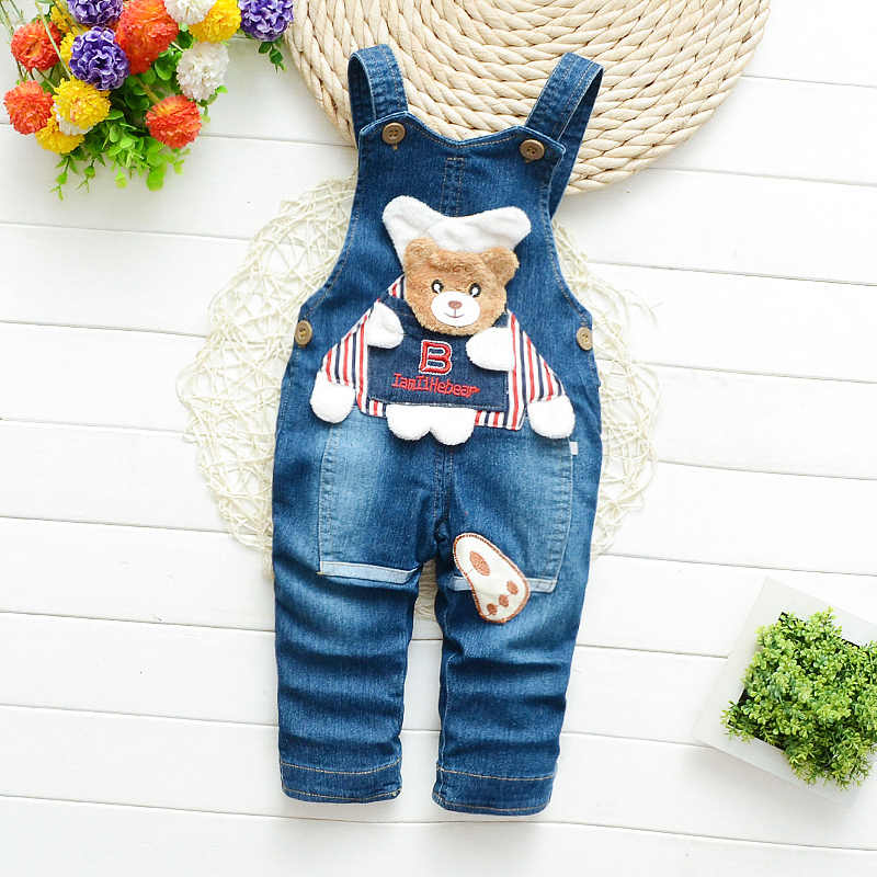 IENENS Kids Baby Boys Long Pants Denim Overalls Dungarees Infant Girls  Jeans Jumpsuit Clothes Clothing Playsuits Trousers