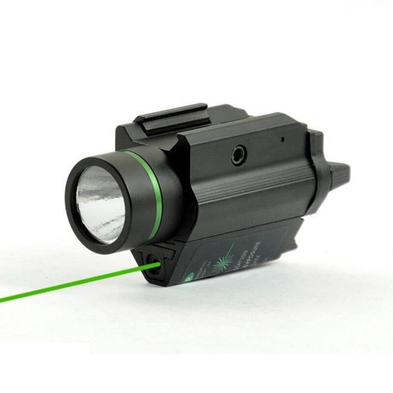 sight led laser lanterna com 20mm ferroviário