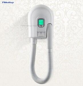 Tlhottop Secadores secador de Cabelo Para Montagem Na Parede Do Hotel Eletrônico Corpo Pele Dispositivo Velocidade Secador YJ-2130 Pública Prateleiras Do Banheiro 220V