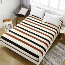 2019 Band Decor Home Brand Bed Sheets Textile Bedding Coverlet Flat Sheet Flower Cover Soft Warm Bedsheets