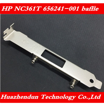 HP NC361T 656241-001 652495-001 Gigabit network card 4U chassis full height bezel long baffle 10pcs free shipping