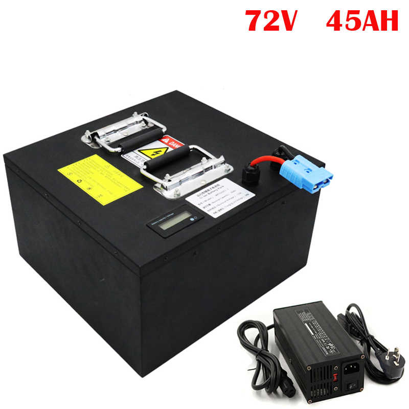 No taxes   Customized 72V 45Ah Lithium E-Scooter Battery Pack for 3000W E-Motorcycle /Electric Vehicle