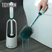 Toilet-Brush Wc-Accessories-Sets Bathroom Silicone Wall-Mounted Liquid No Cleaning-Artifact