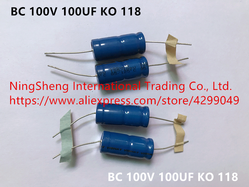 47uf @ 250VDC Nichicon VX Series Axial Electrolytic Capacitor