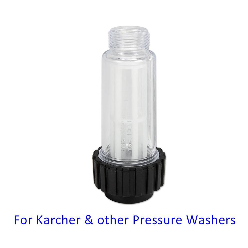 Filtro de agua para lavadora de coche, alta presión, Karcher K2 K3 K4 K5 K6 K7 y Elitech Champion Sterwins Interskol Nifisk STIHL Huter