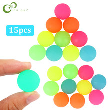 15Pcs/lot Luminous Moonlight High Bounce Toy Balls Kids Gift Party Favor Decoration Kids Glow in the Dark Bouncing Ball ZXH