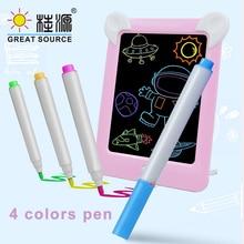 Children Light Up Drawing Pad Repead Creative Board Photo Frame Memo Pad LCD Screen (8PCS)