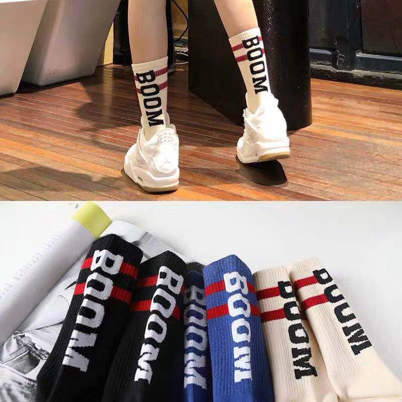 Hip Hop Men Socks Street Funny Skateboard Business Unisex Sock Pure Cotton Long Knee Thin Summer Men's Socks