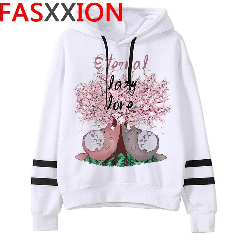 Totoro Studio Ghibli hoodies women streetwear grunge femme hoody sweatshirts hip hop streetwear 5