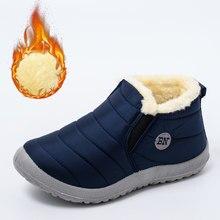 Bottines de neige imperméables pour femme, chaussures plates, de Couple, collection hiver 2020