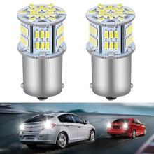 2x Led 1156 P21W Canbus BA15S Reversing Lamp Bulb For Nissan Qashqai Almera Juke Tiida X-Trai J11 2019 Auto Backup Lights
