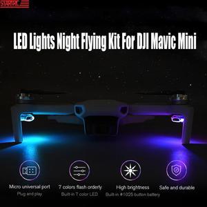 STARTRC Mavic Mini LED Lights Night Flying Kit Signal Lights Seven Color DIY Chooses For DJI Mavic Drone Expansion Accessories(China)