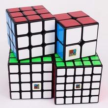 Moyu meilong 2x2x2 3x3x3 4x4x4 5x5x5 hız sihirli küp paket hediye kutusu 2x2 3x3 4x4 5x5 bulmaca küp MF2 MF3 MF4 MF5 cubo magico