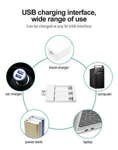 Image 5 - PHOMAX شاحن بطارية aa ، aaa ، 1.2 فولت ، محمول ، قابل لإعادة الشحن ، 3 قطعة ، Ni MH / Ni Cd ، USB مدمج ، 3 فتحات