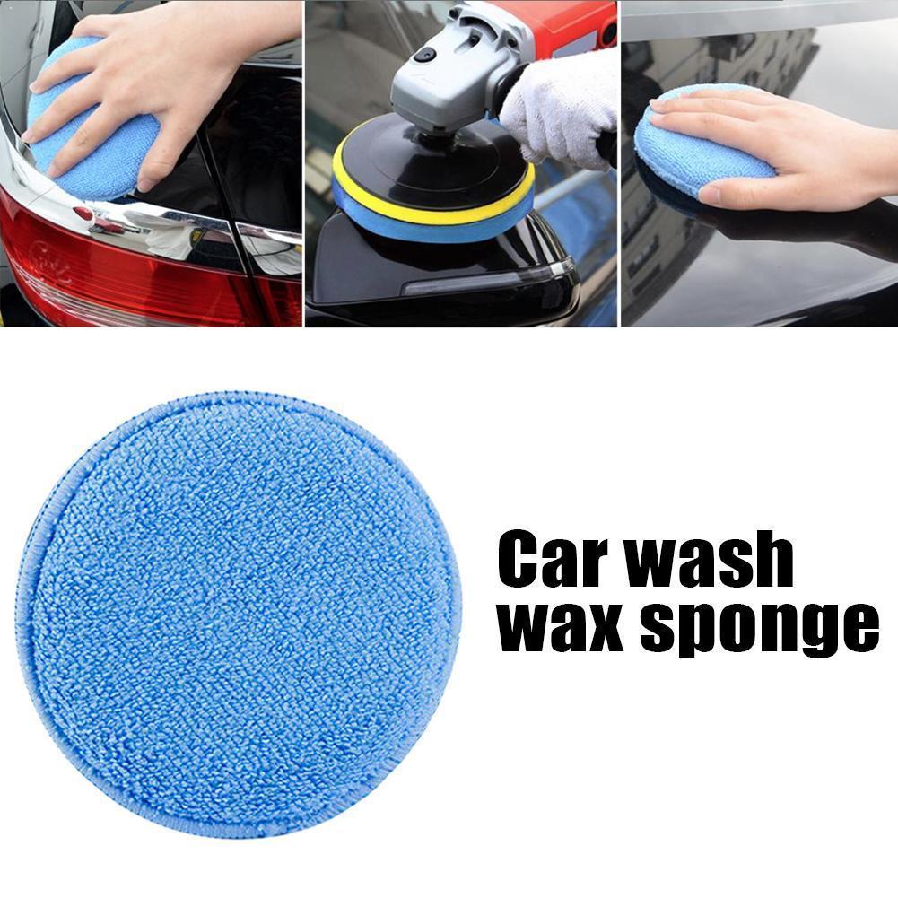 12 pcs cera polones espuma de cera esponja aplicador almofadas esponja veiculo espuma cera polones limpo