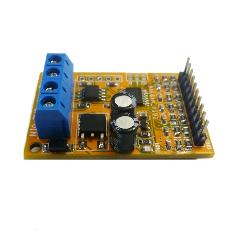 7 Ch Analog Voltage Acquisition Sampler RS485 ModBus RTU Module For PLC Oscilloscope ADC 4-20ma Sensor