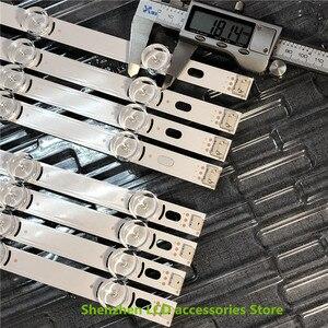 Image 4 - 16 יח\חבילה 100% חדש מלא תאורה אחורית Ar ray LED רצועות ברים עבור LG 39LN540V 39LN570V 39LA620V HC390DUN POLA2.0 39 A B