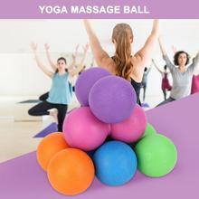 Йога массажный мяч фасции мяч фитнес-мяч для массажа для глубокого расслабления мышц и Акупрессура массаж