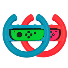 top selling 2 pcs for Nintend Switch NS Joy-Con Controller Racing Steering Wheel Handle Grip Support Wholesale and Dropshipping