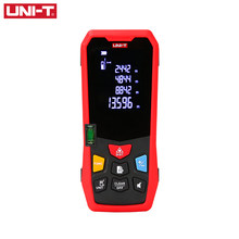 UNI-T Handheld Laser Rangefinder Distance Meter 40M 50M 60M 80M Medidor Laser Tape Build Measure Device Electronic Ruler