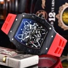 Luxury Quartz Watches New Top Brand RM Mens Automatic