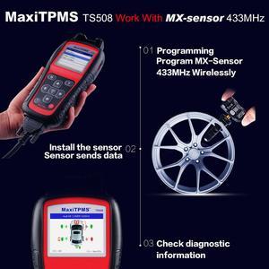 Image 5 - Autel MaxiTPMS TS508 TPMS אבחון ושירות כלי צמיג לחץ ניטור מערכת