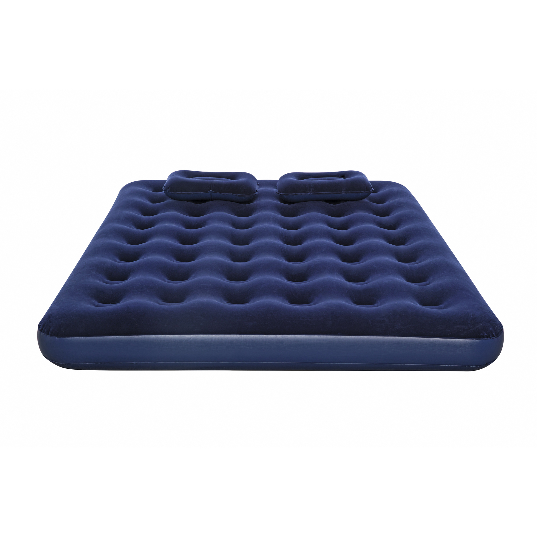 Mattress Inflatable флокированный 203 х152х22 Cm (hand Pump And 2 Pillow), Bestway Queen, Item No. 67374