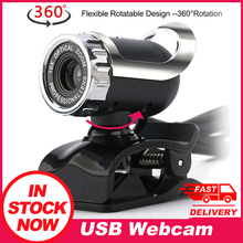 Usb Webcam USB 2.0 12.0 Megapixel Digital Web Camera 360 degrees Clip on with Microphone for Laptop Computer